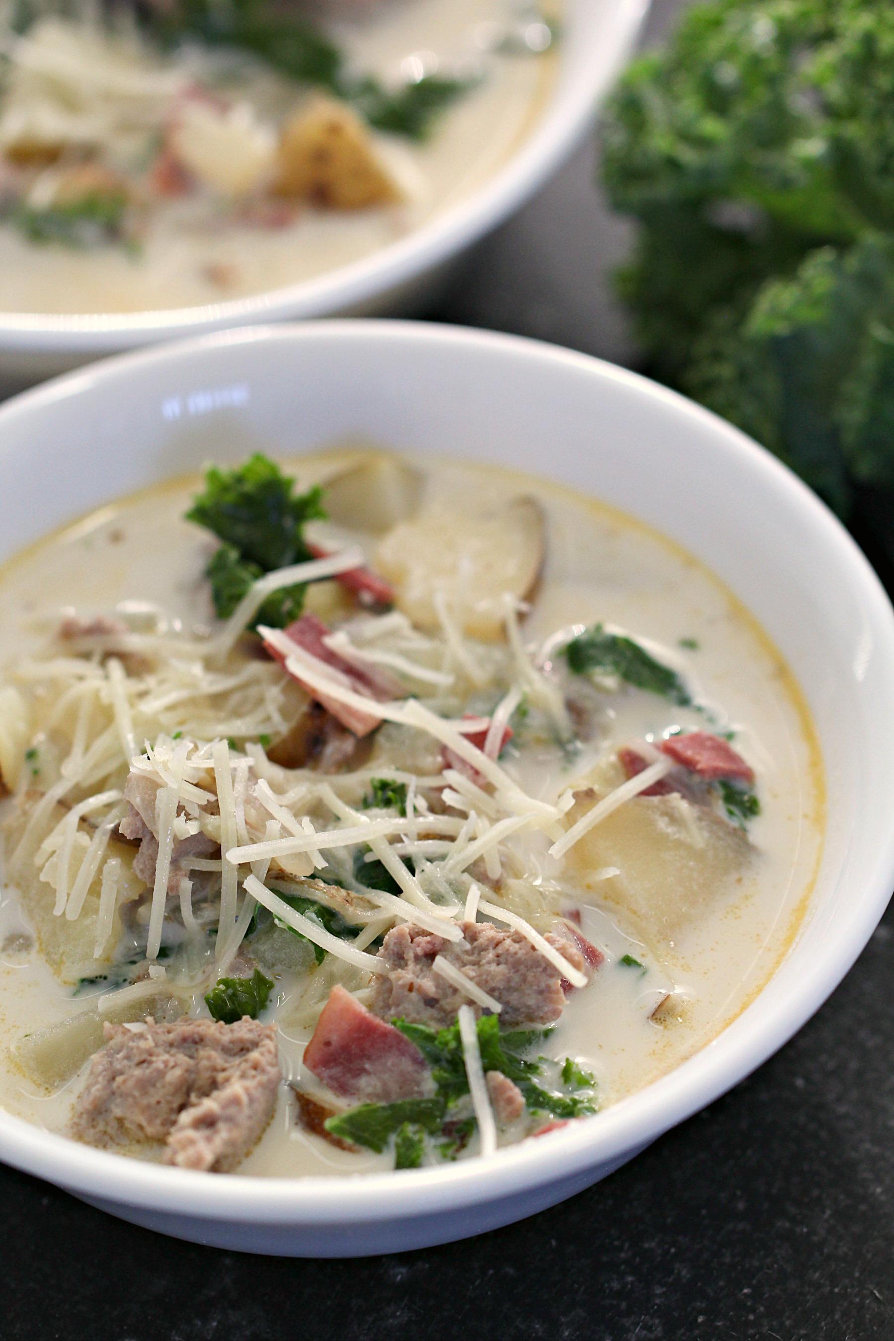 Copycat Olive Garden Zuppa Toscana Soup