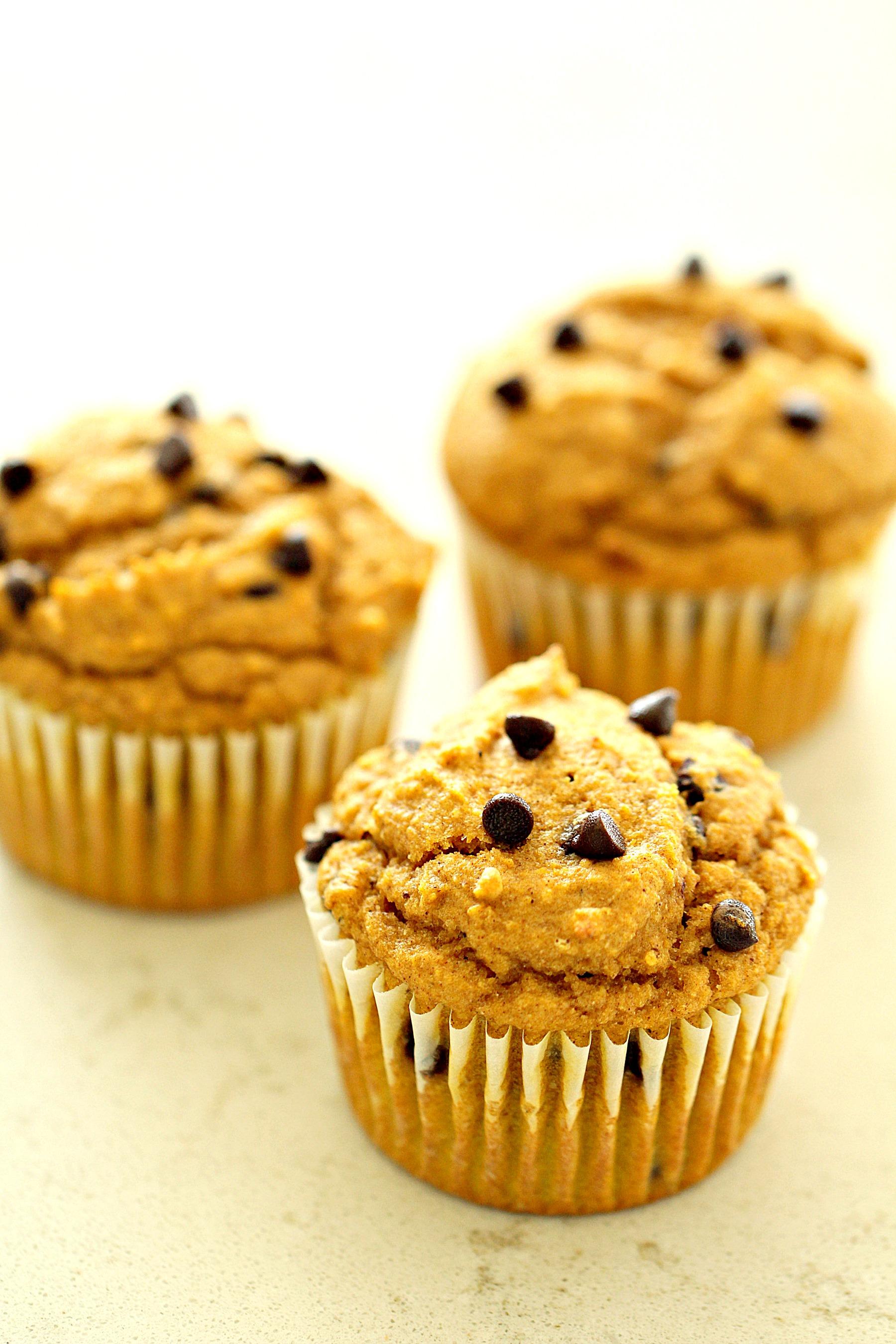 Healthier Pumpkin Muffins Recipe