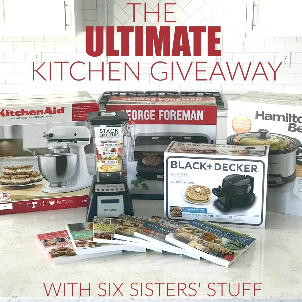 The ULTIMATE Kitchen Giveaway!