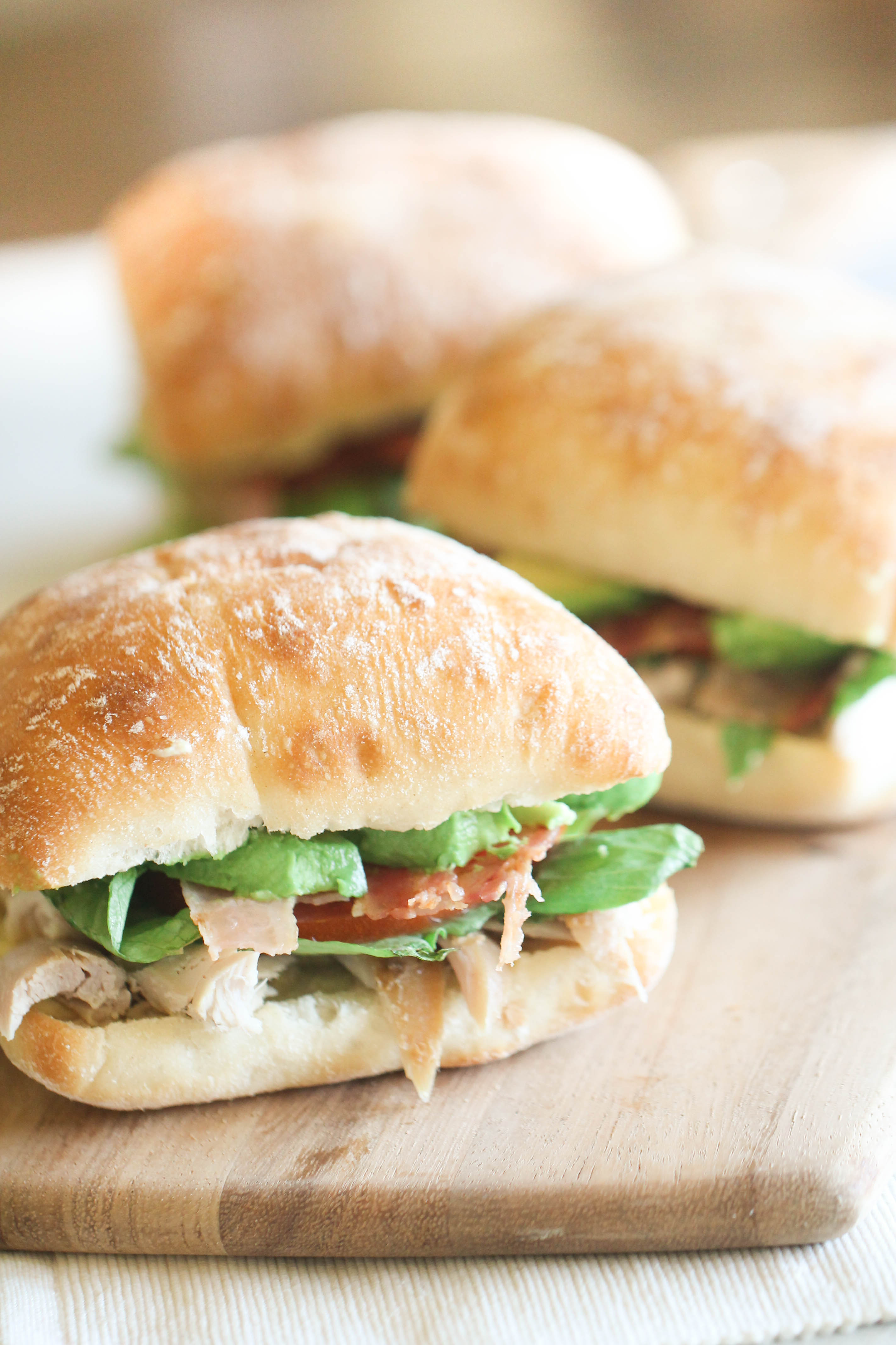 Kneader's Chicken Bacon Avocado Sandwich