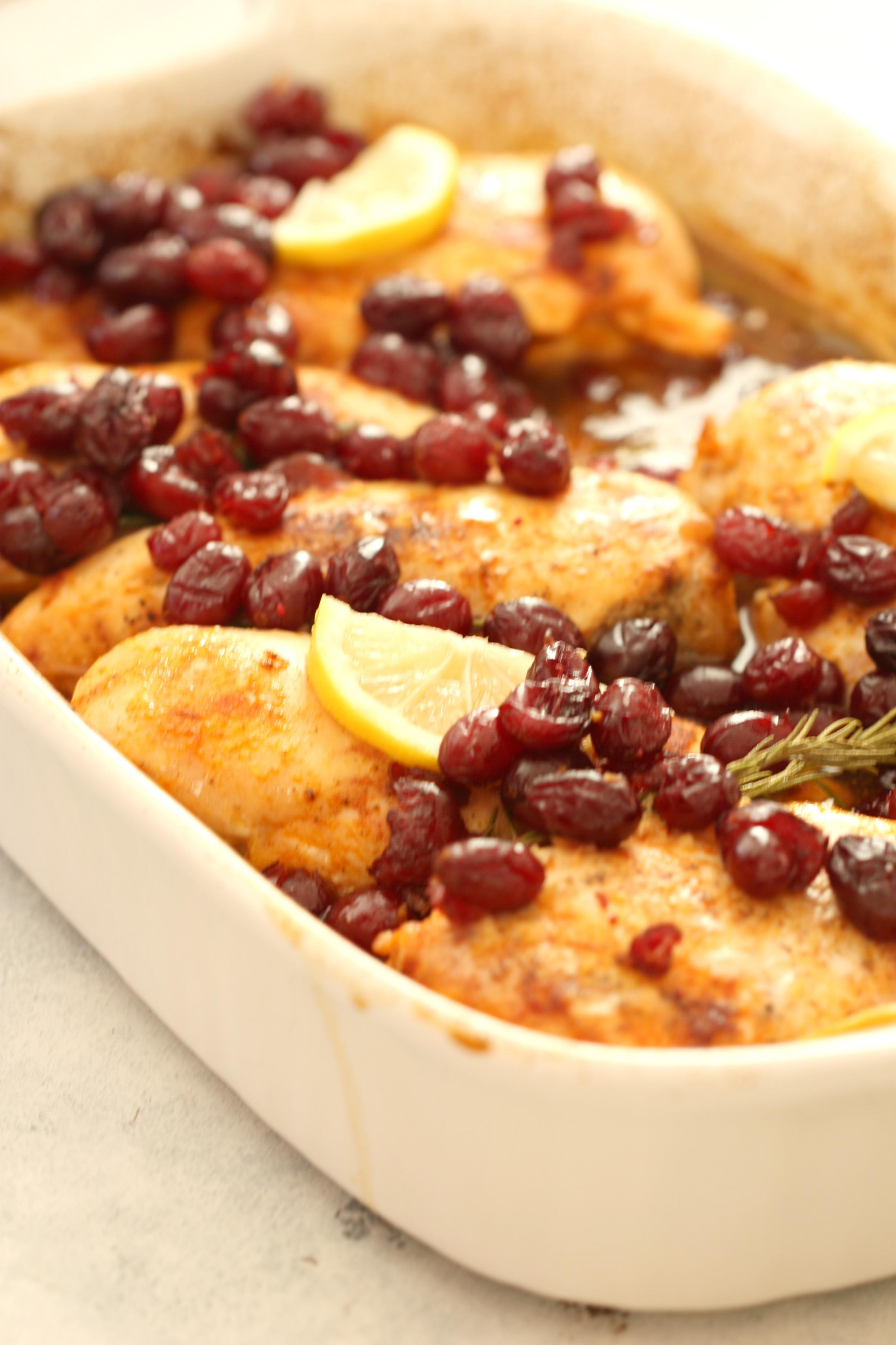 Cranberry Chicken Bake