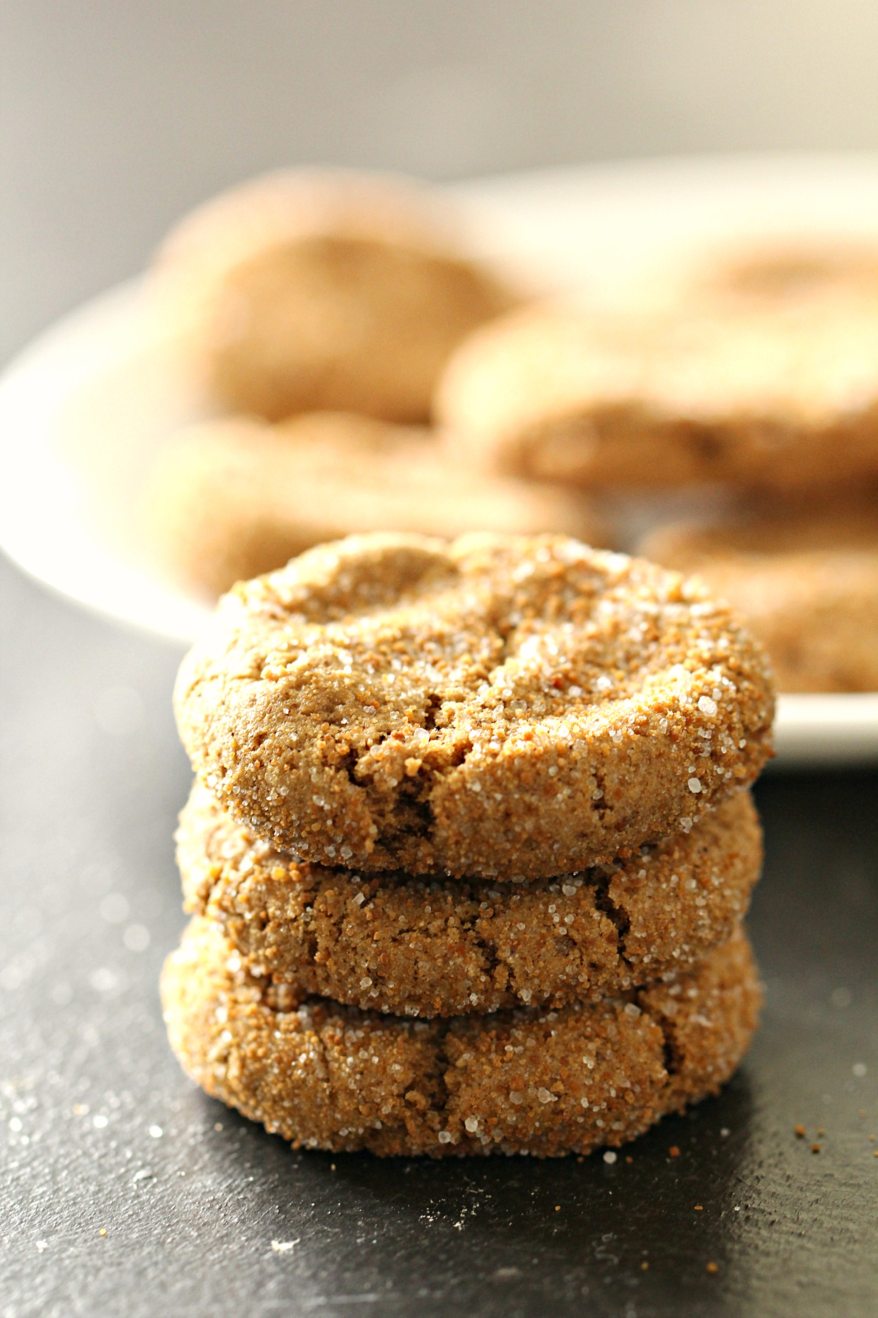 Healthier Soft and Chewy Ginger Cookies Recipe