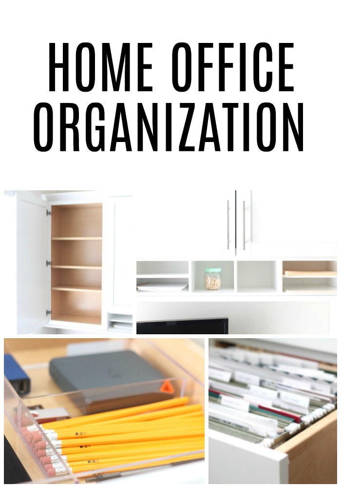 Wonderful Home Office Organization Ideas