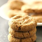 Healthier Soft and Chewy Ginger Cookies