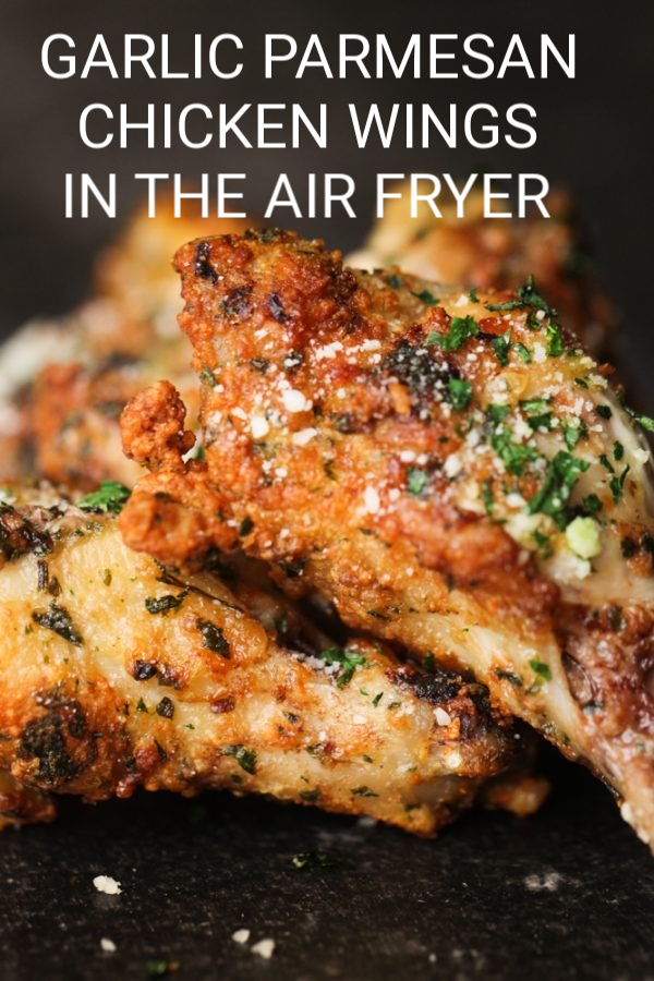 Garlic Parmesan Chicken Wings In An Air Fryer Six Sisters Stuff