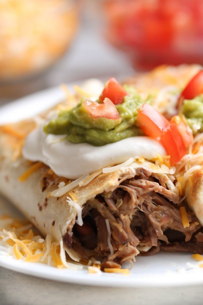 Baked Shredded Beef Chimichangas Six Sisters Stuff