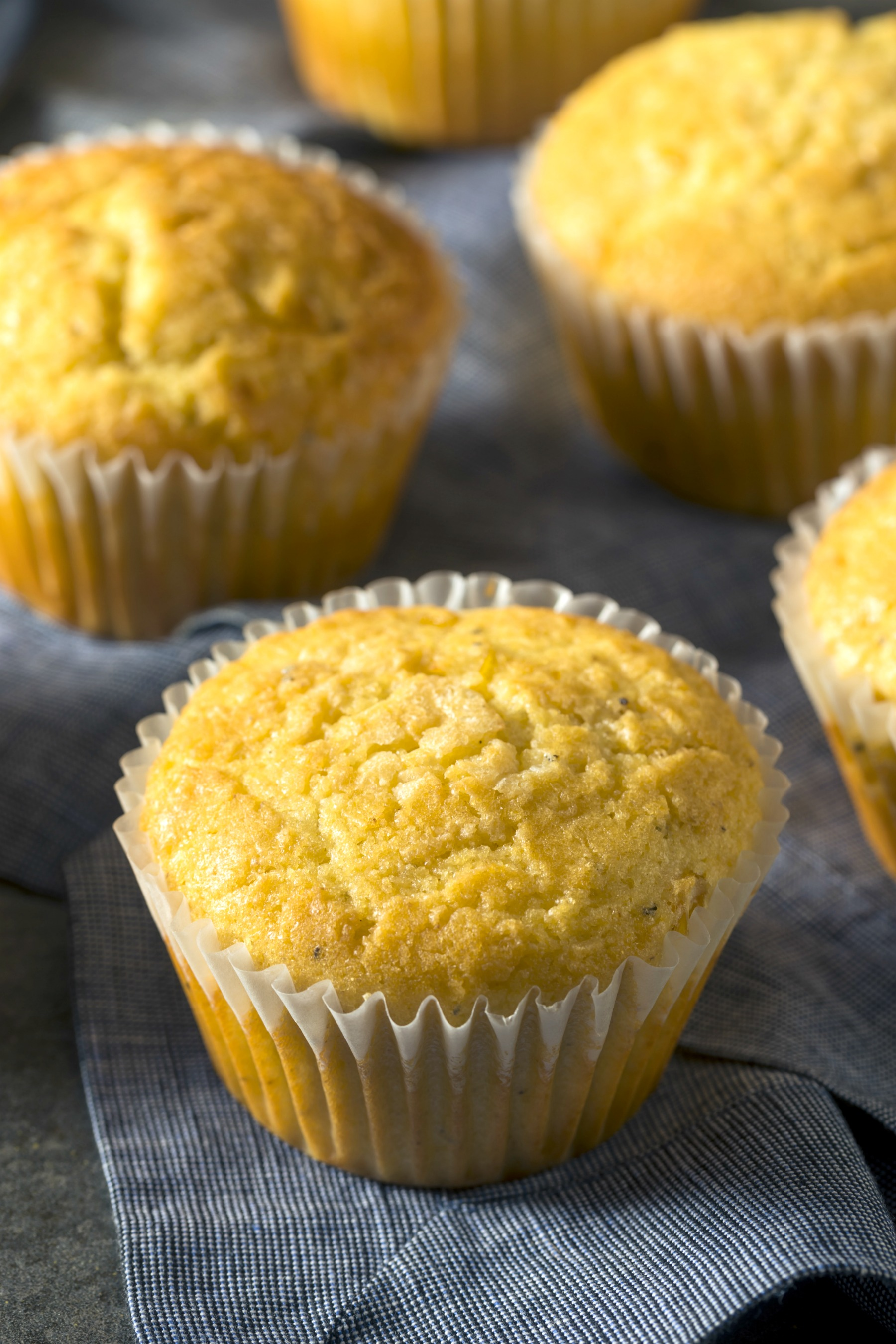 Healthier Honey Cornbread Muffins Recipe