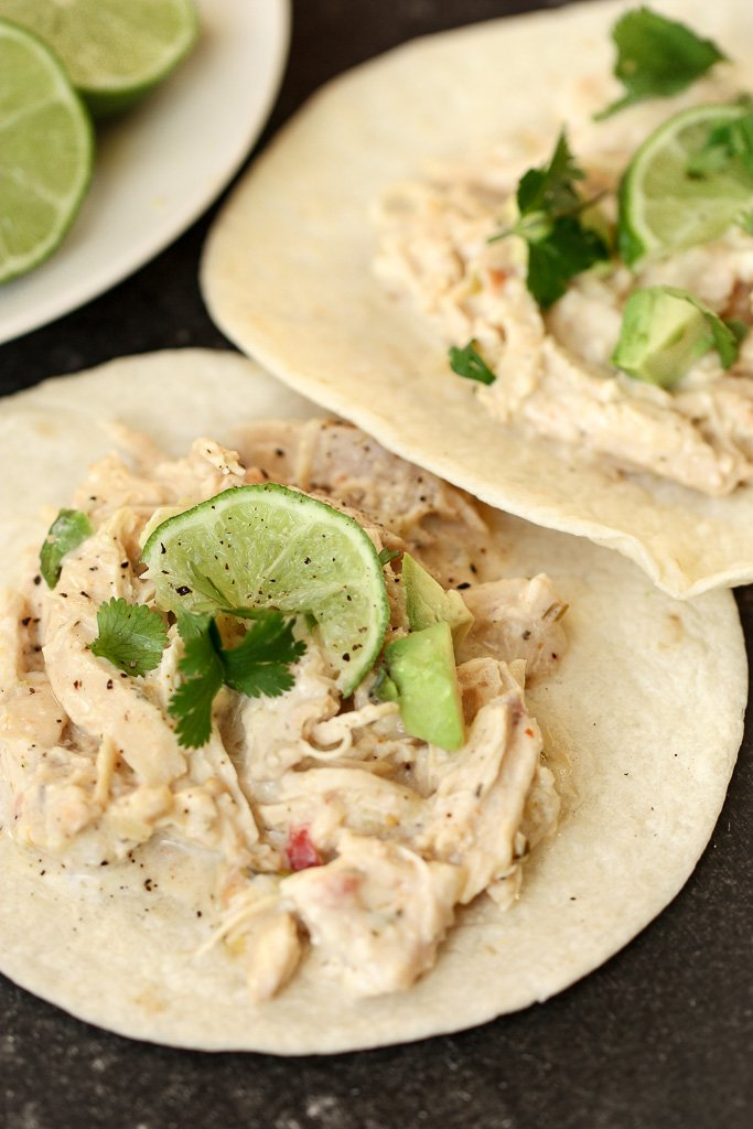Salsa Verde Lime Tacos