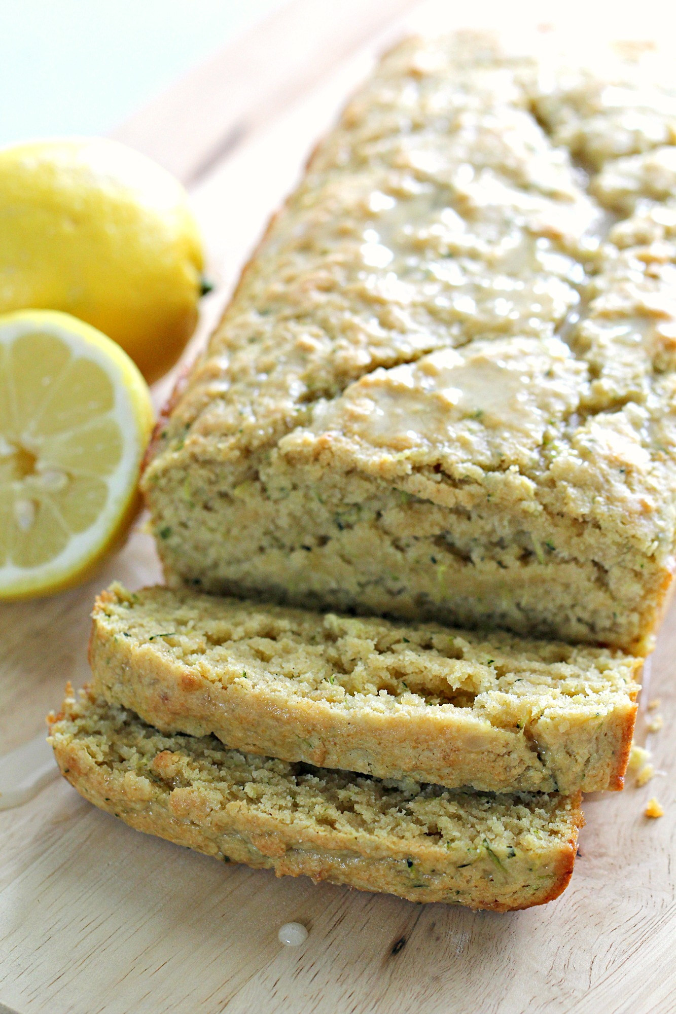 Whole Wheat Lemon Zucchini Bread