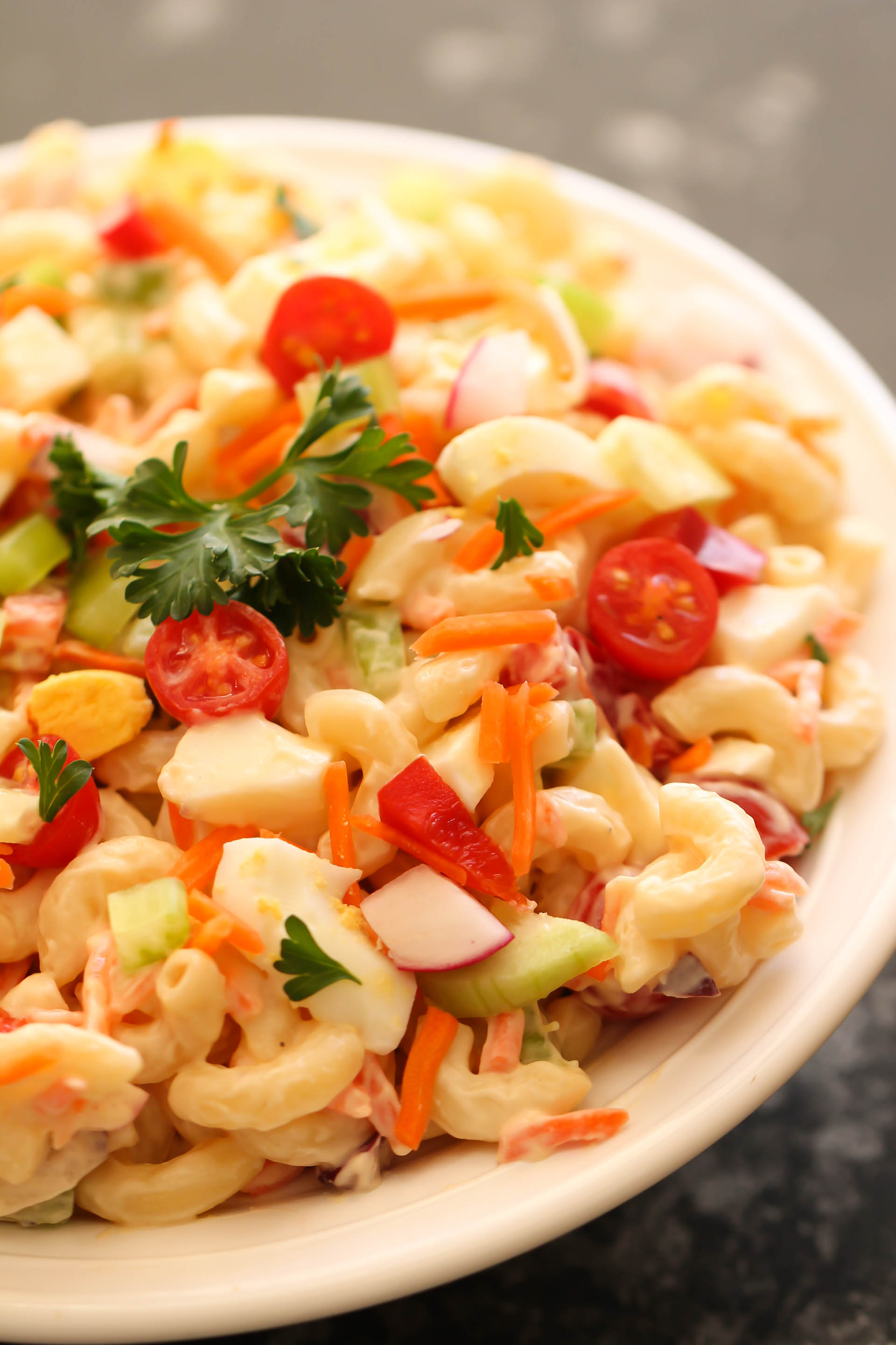 Loaded Macaroni Salad