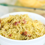 how to cook spaghetti squash with ranch and bacon flavors