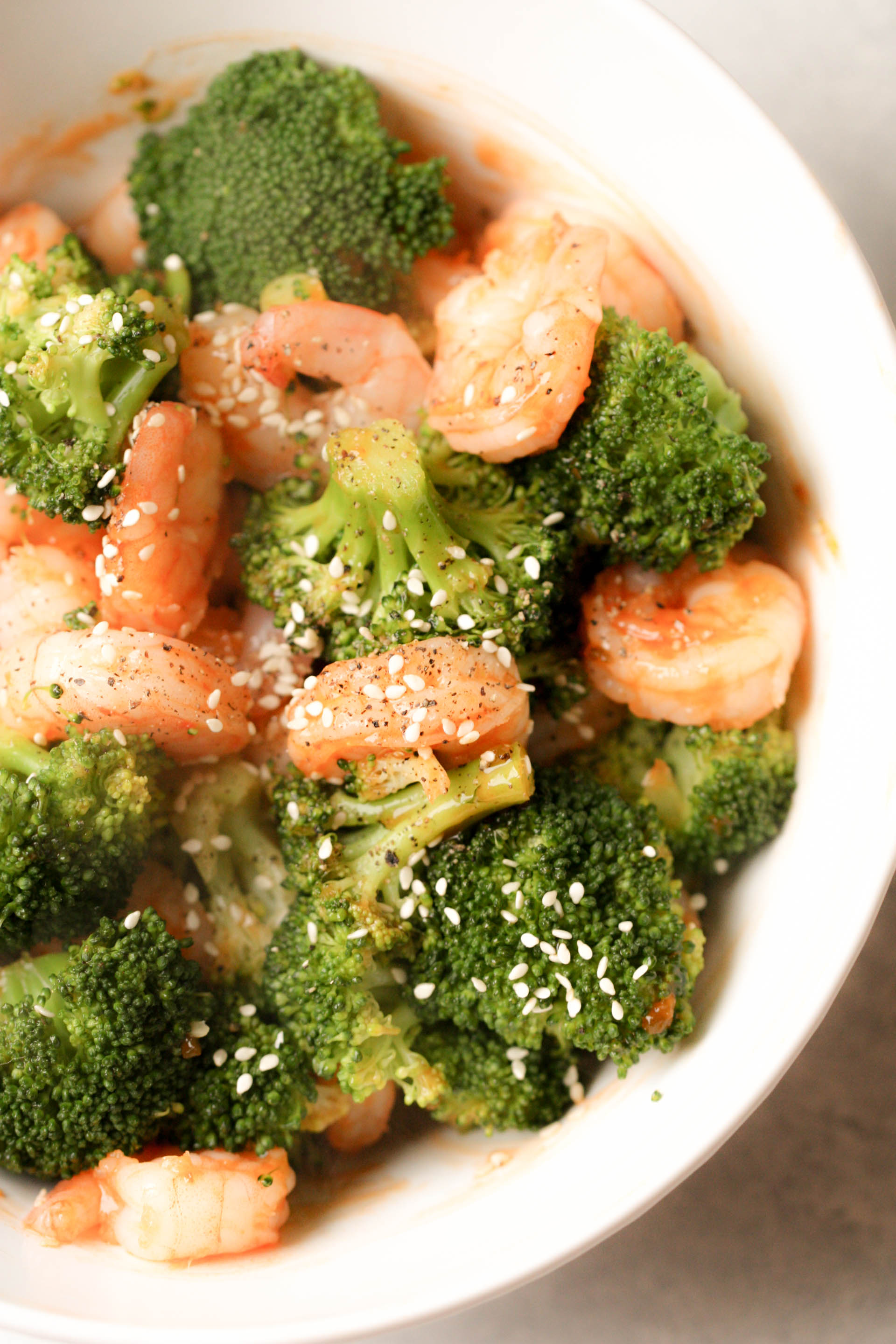 Sweet and Sour Shrimp and Broccoli