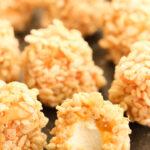 Caramel Marshmallow Rice Krispie Balls
