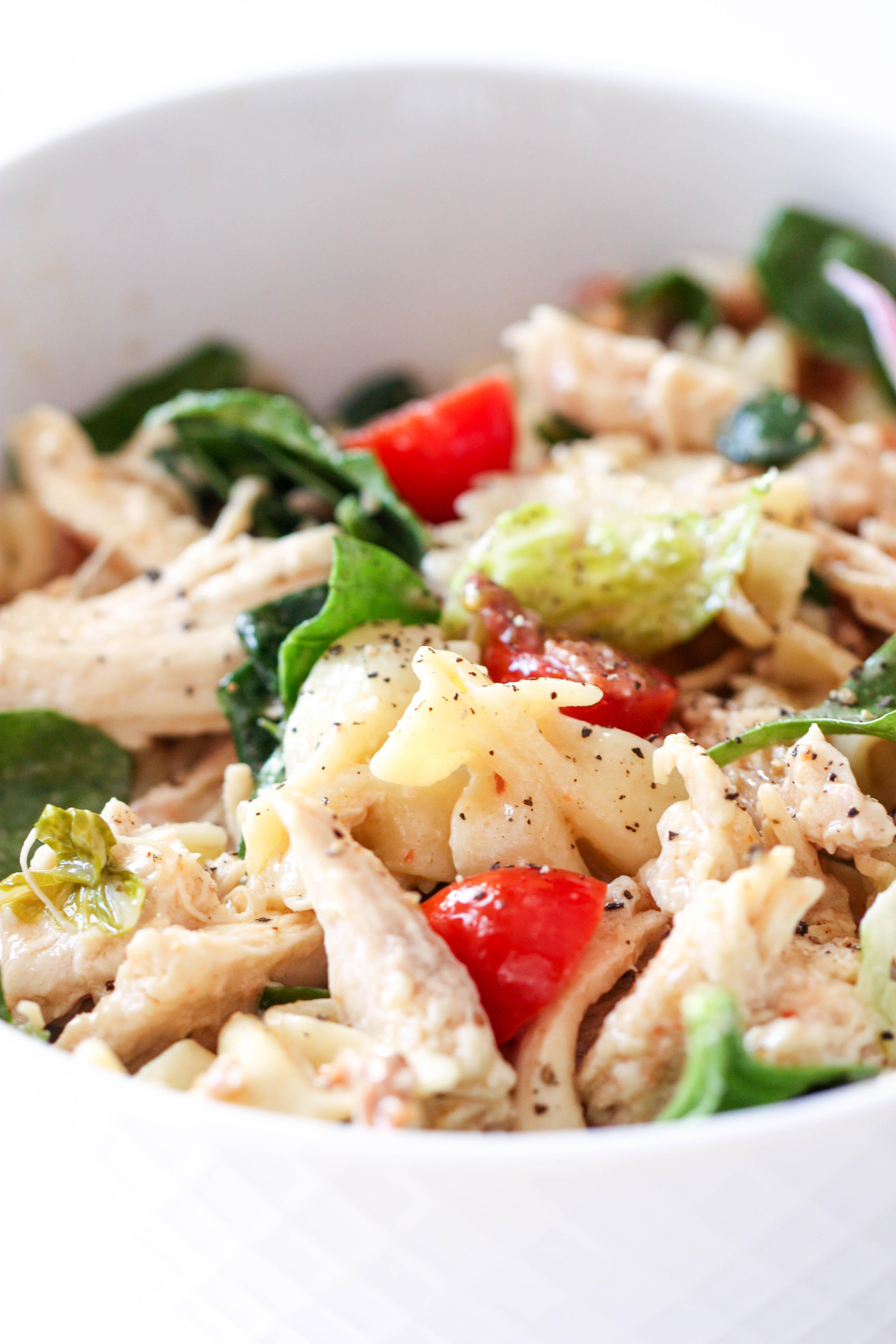 Chicken BLT Pasta Salad
