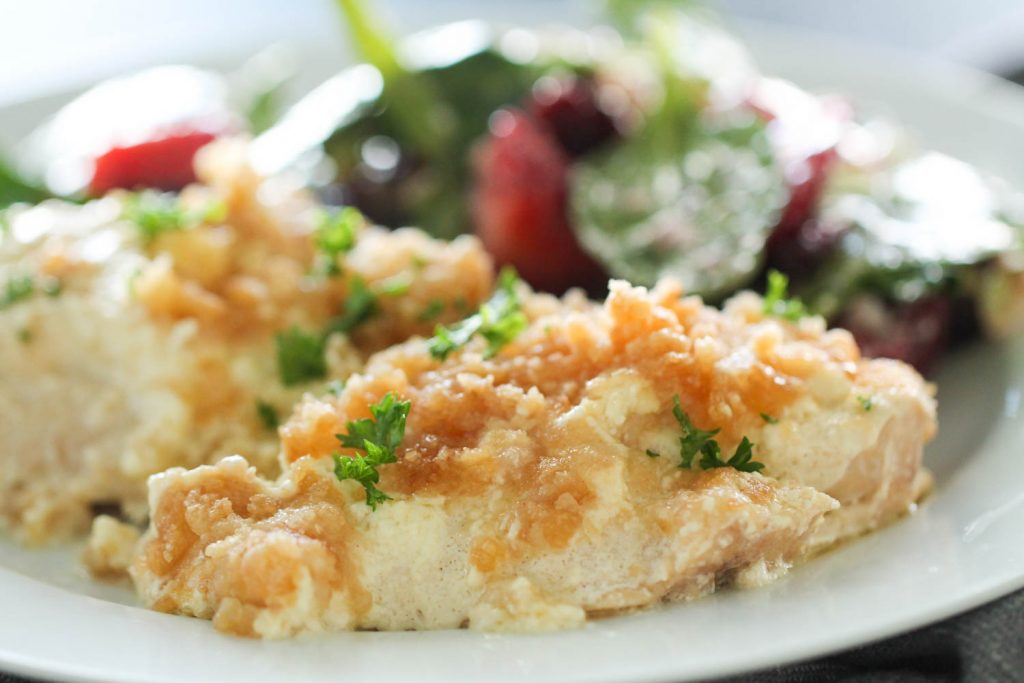 Slow Cooker Ritz Chicken | Delicious Chicken Crockpot Recipes
