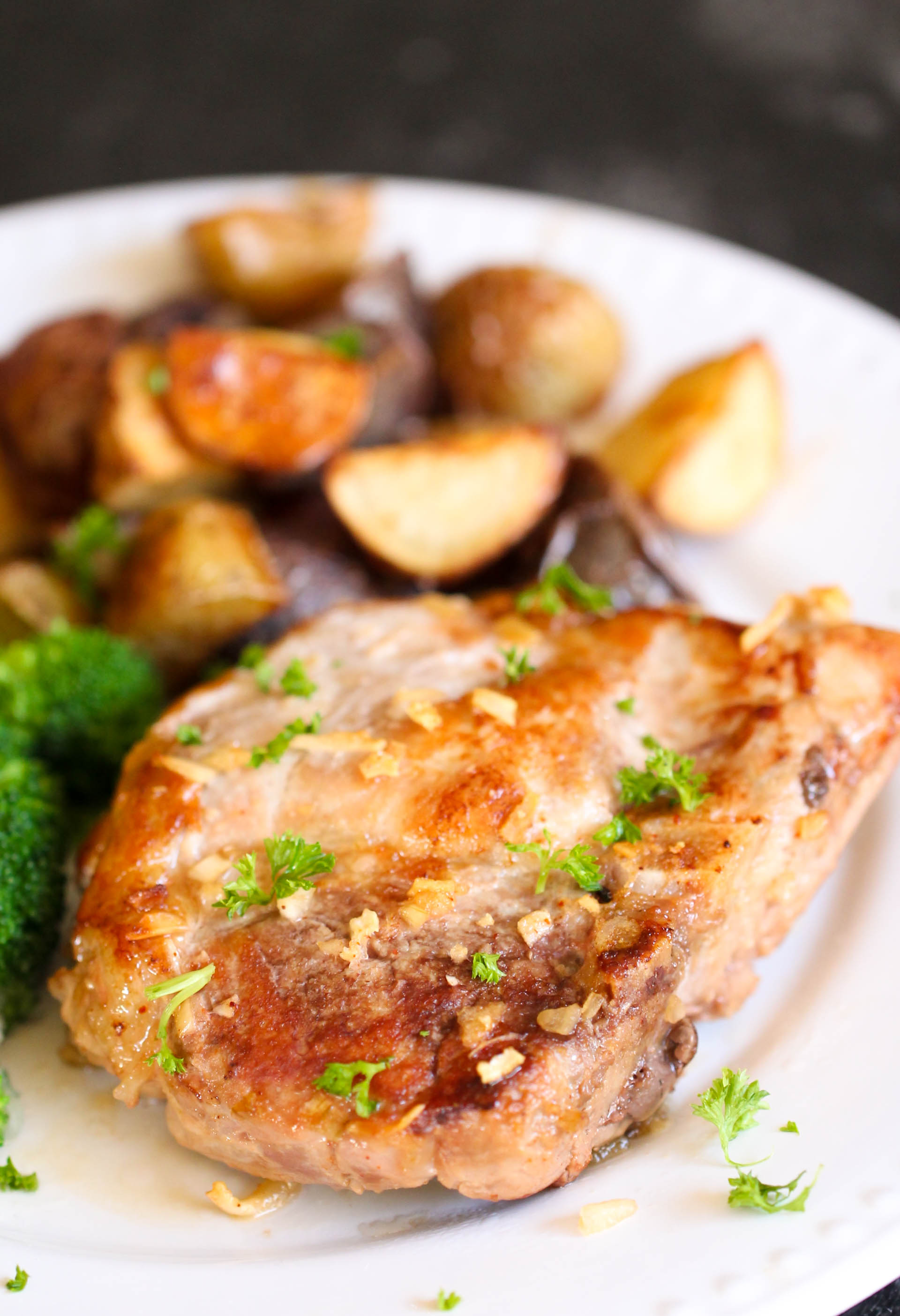 Easy Baked Maple Pork Chops Recipe
