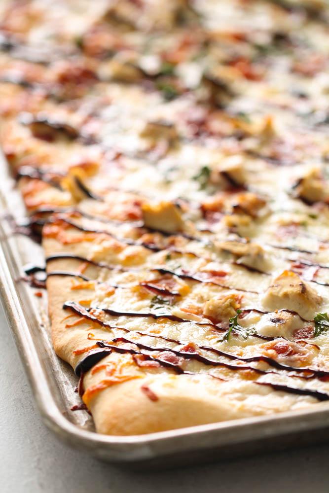 Copycat Blaze White Top Pizza