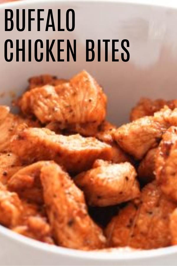Buffalo Chicken Bites in bowl