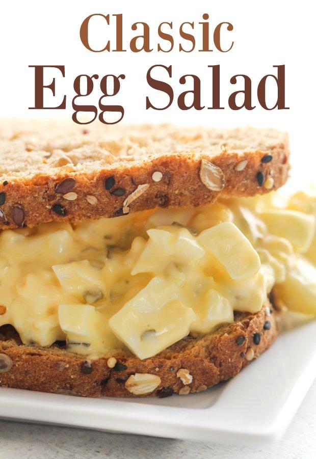 Classic Egg Salad Sandwiches