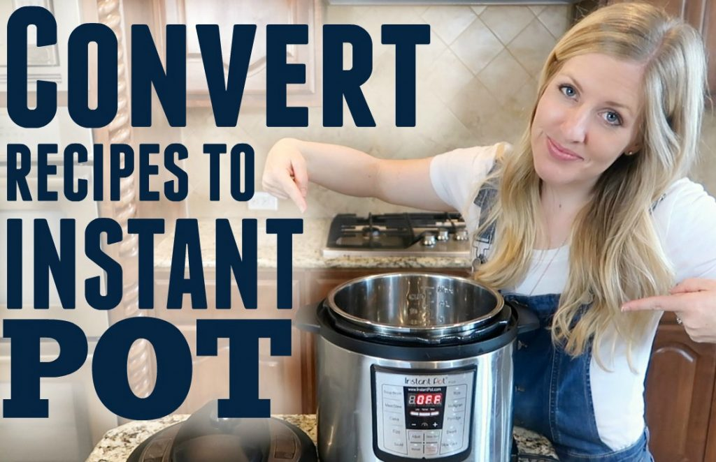 picture regarding Instant Pot Cheat Sheet Printable called How in the direction of Change Recipes into Fast Pot Recipes 6