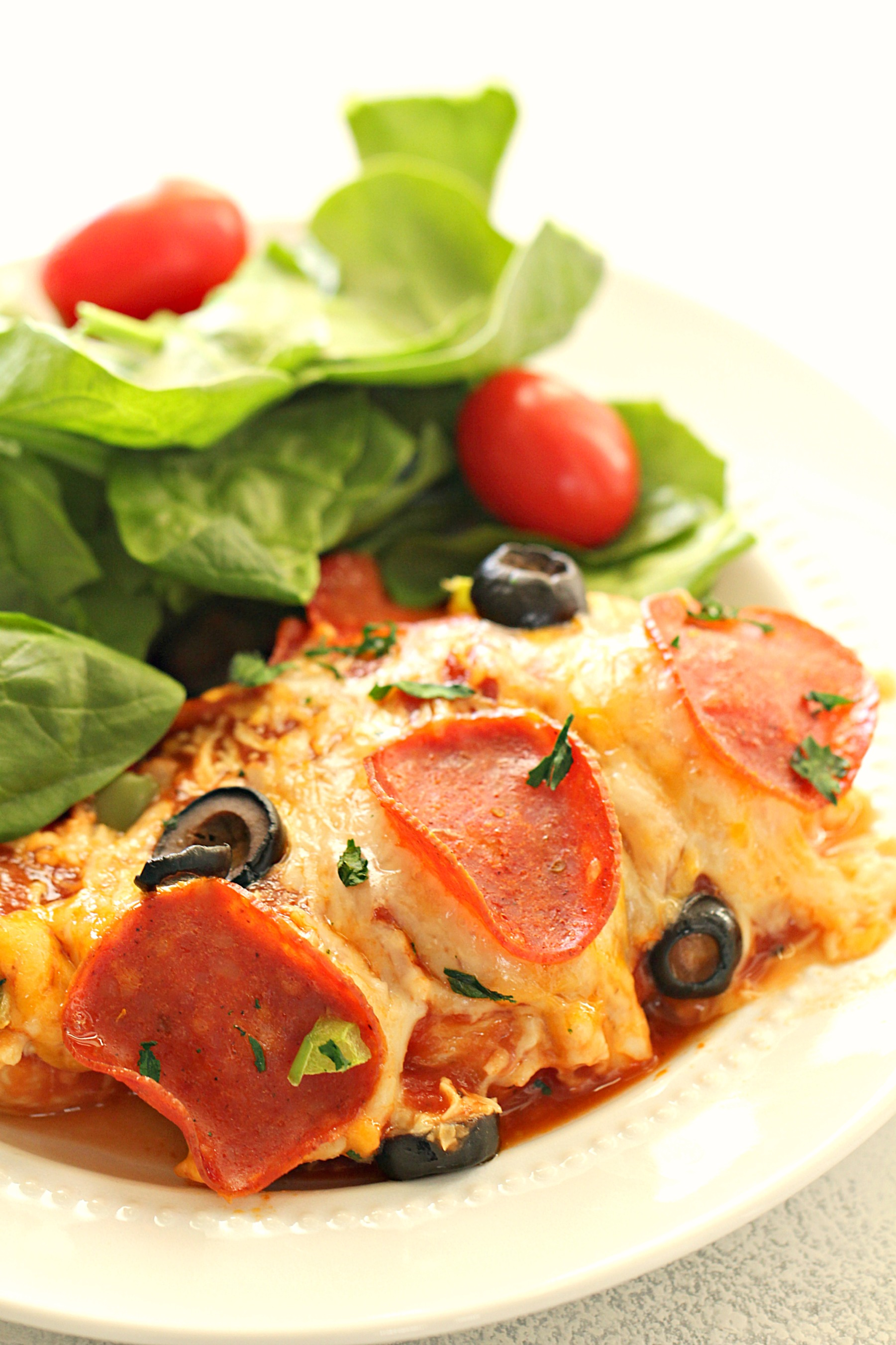 Easy Pizza Chicken Bake