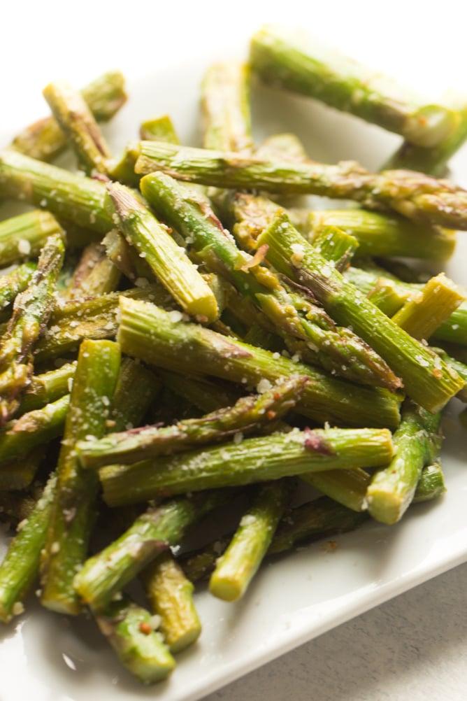 Parmesan Lemon Asparagus