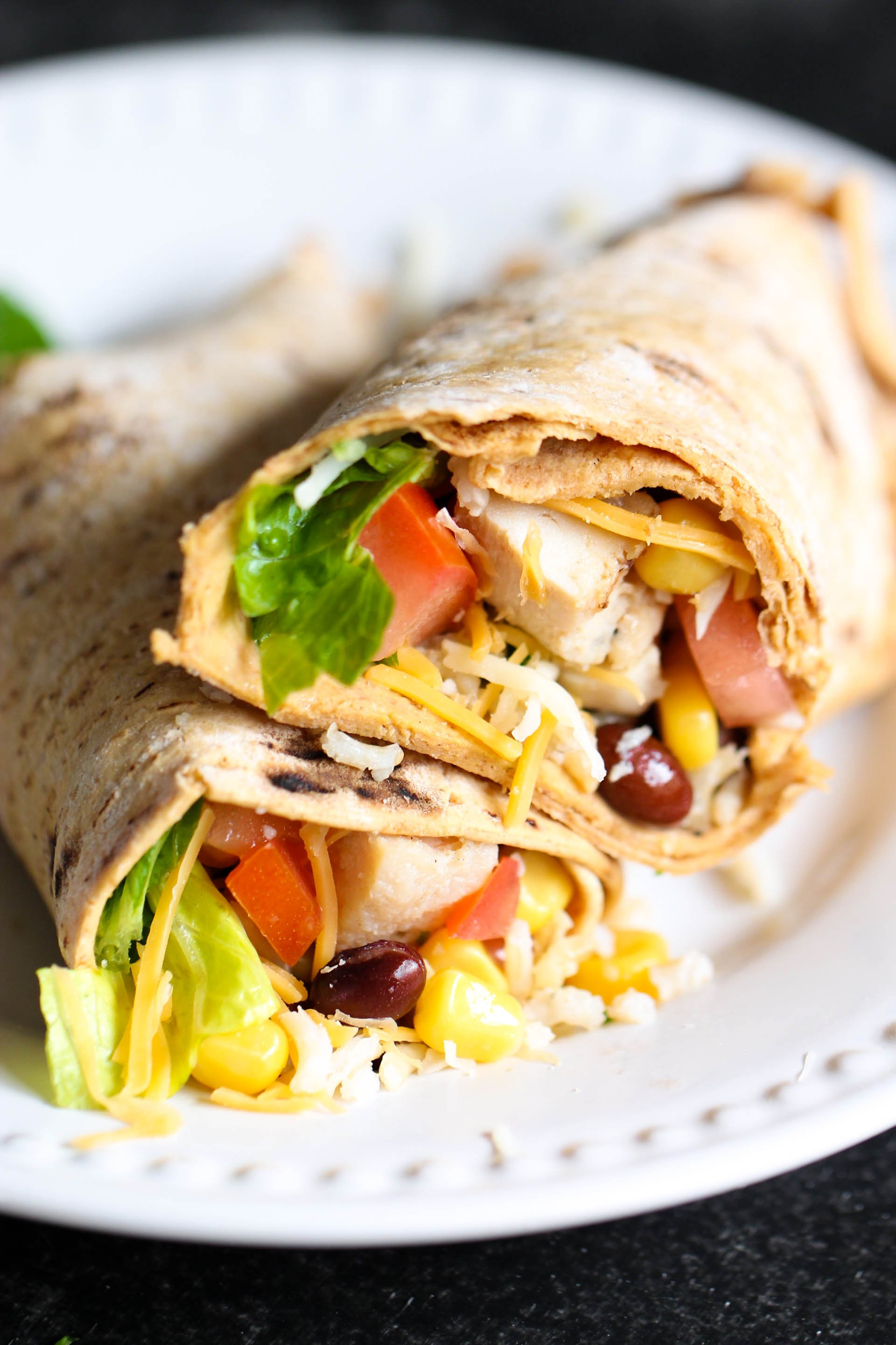 Spicy Chipotle Chicken Wrap