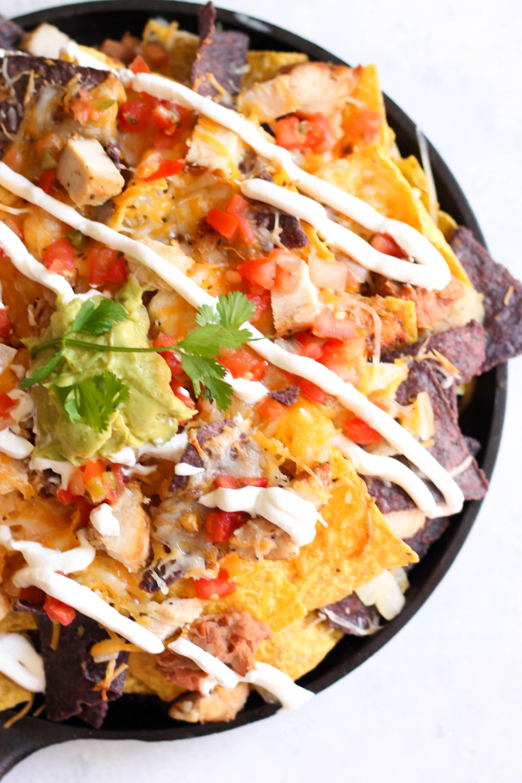 Copycat Fiesta Chicken Nachos