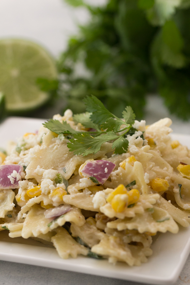 Street Corn Pasta Salad