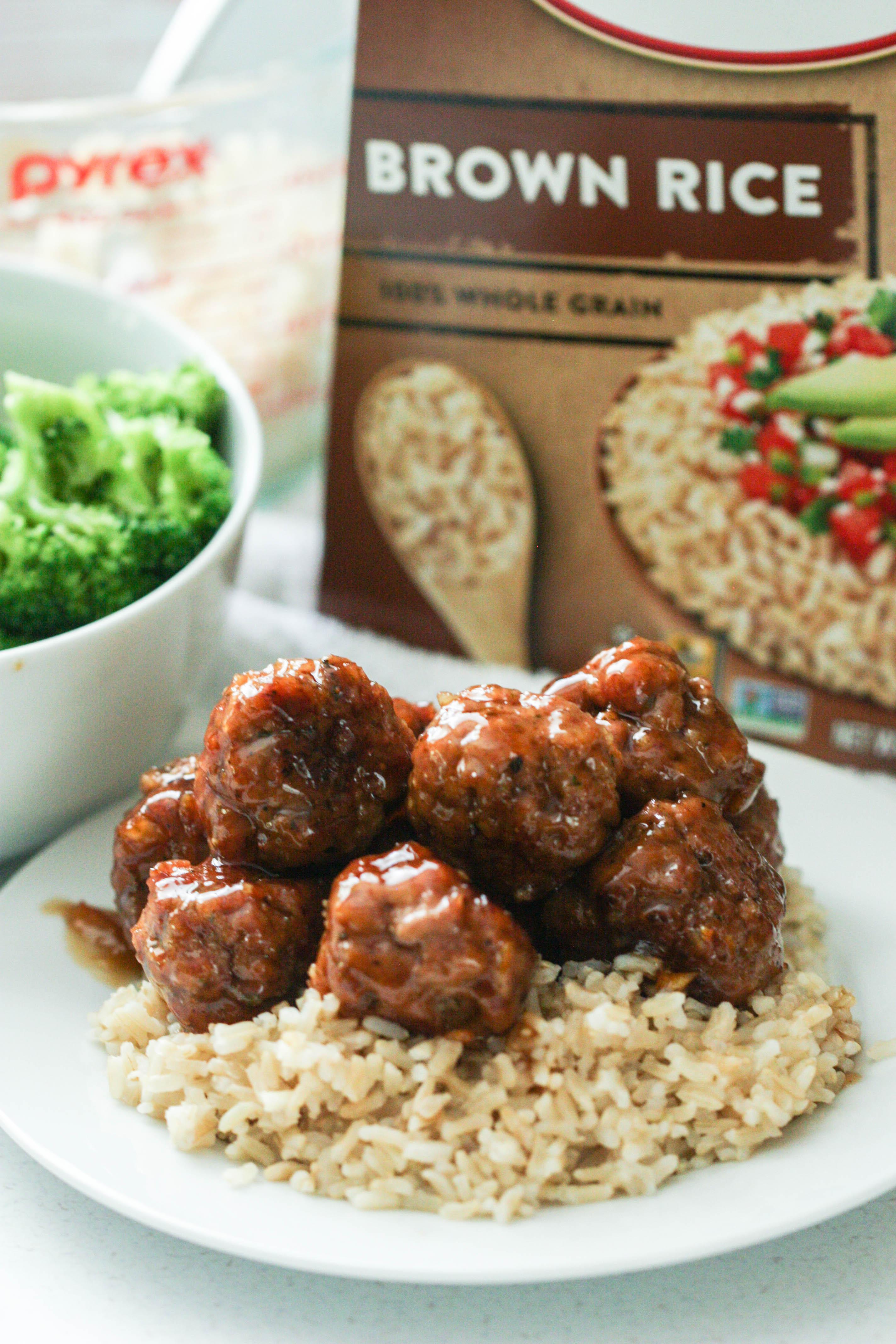 Sweet and Savory Turkey Meatballs