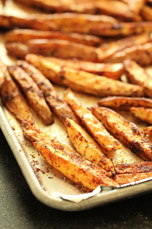 Baked Seasoned Steak Fries Recipe