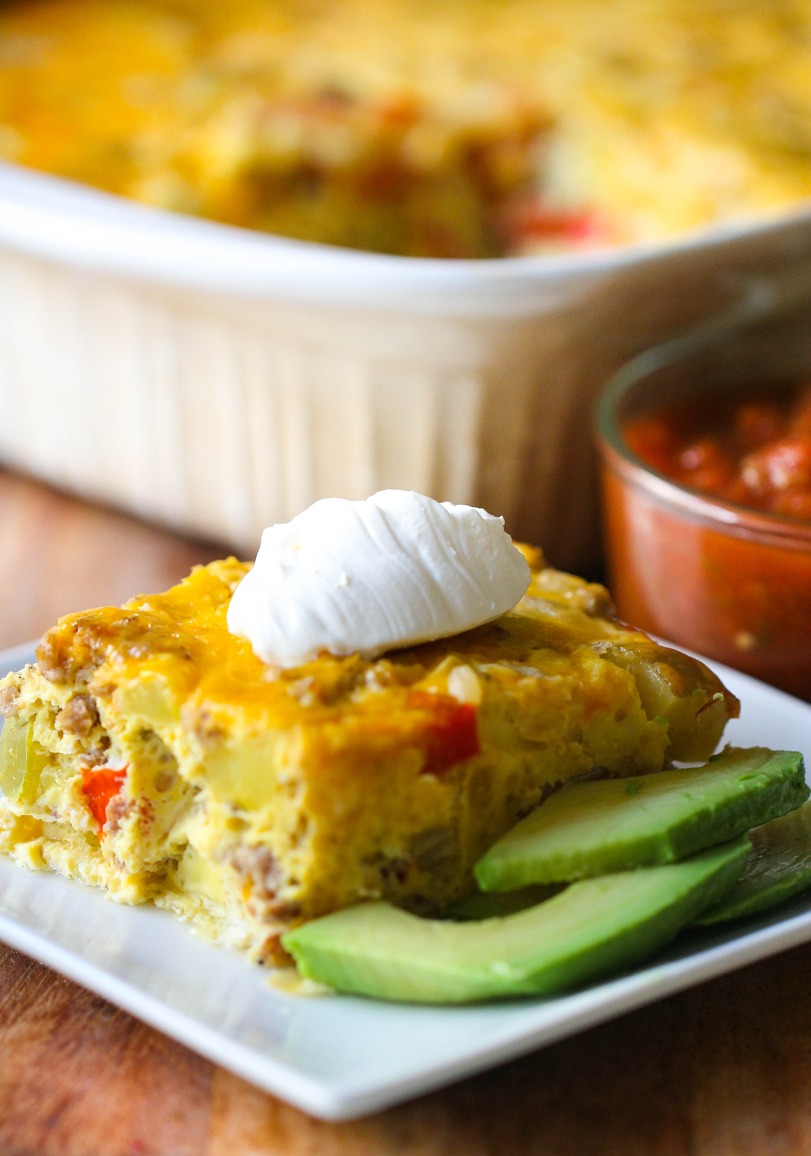 Easy Hashbrown and Egg Breakfast Casserole