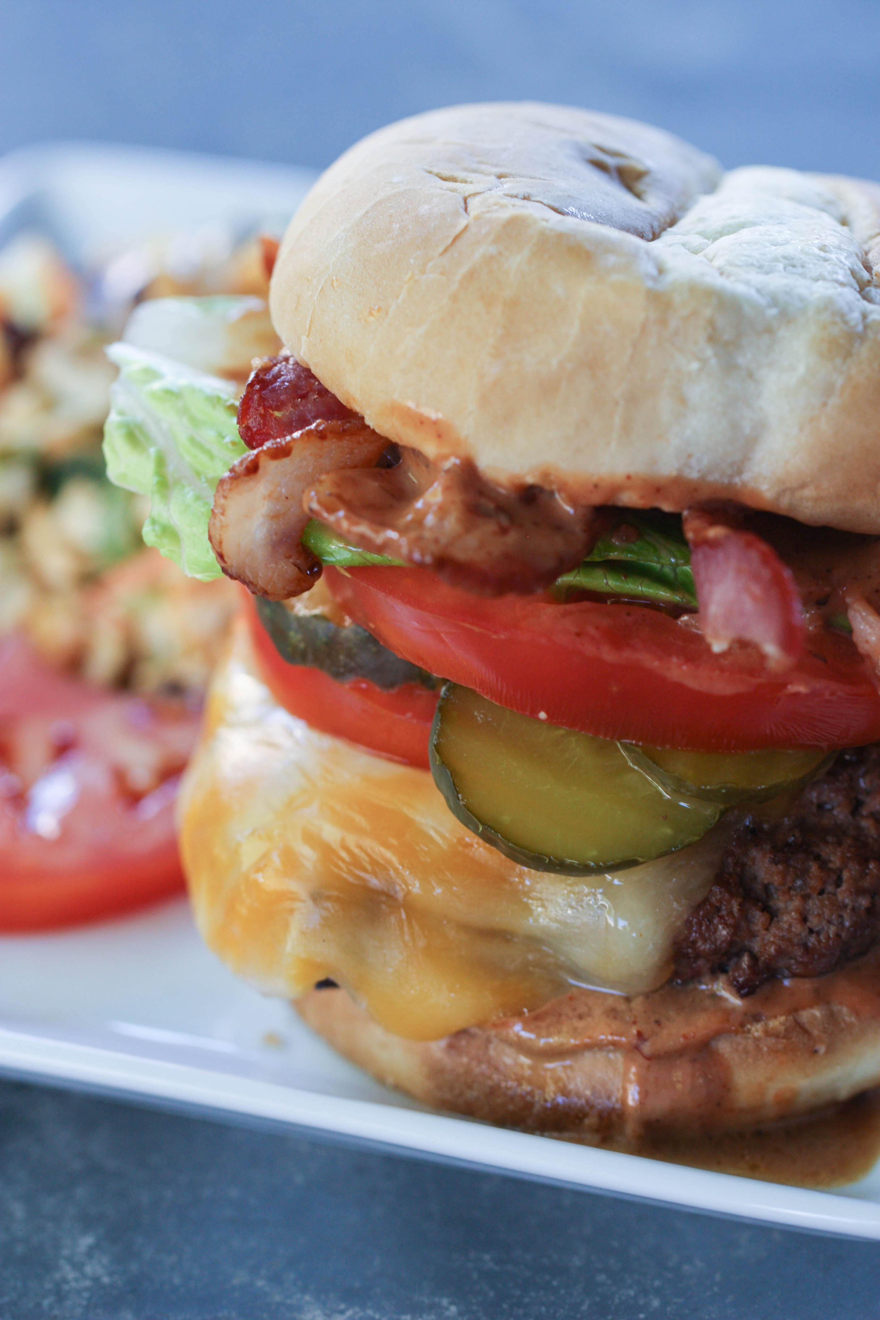 Bbq Bacon Burgers