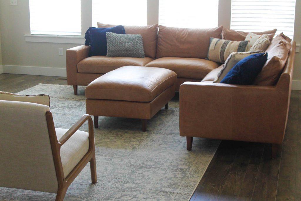 Etonnant Living Room Floor Update With ESaleRugs