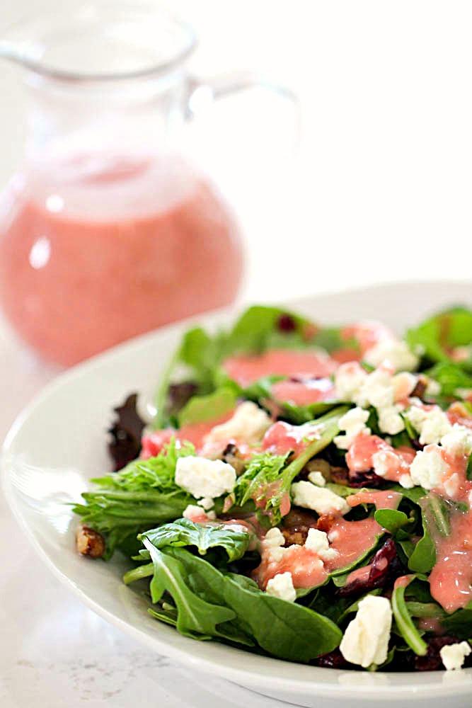 Fresh Raspberry Balsamic Vinaigrette Dressing
