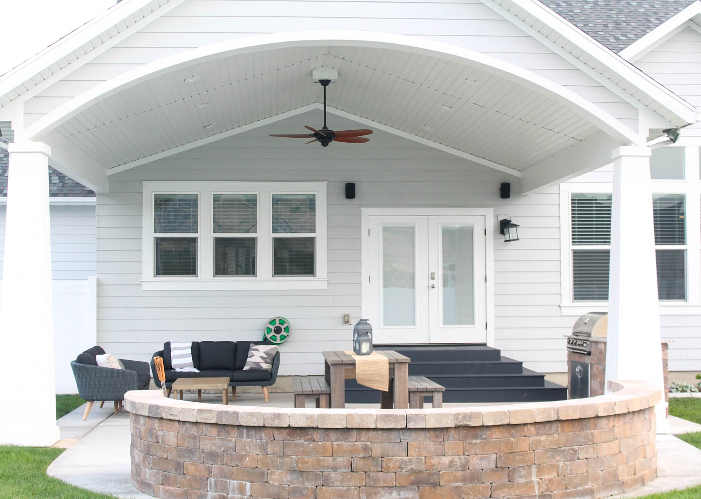 Outdoor Patio Makeover with Article