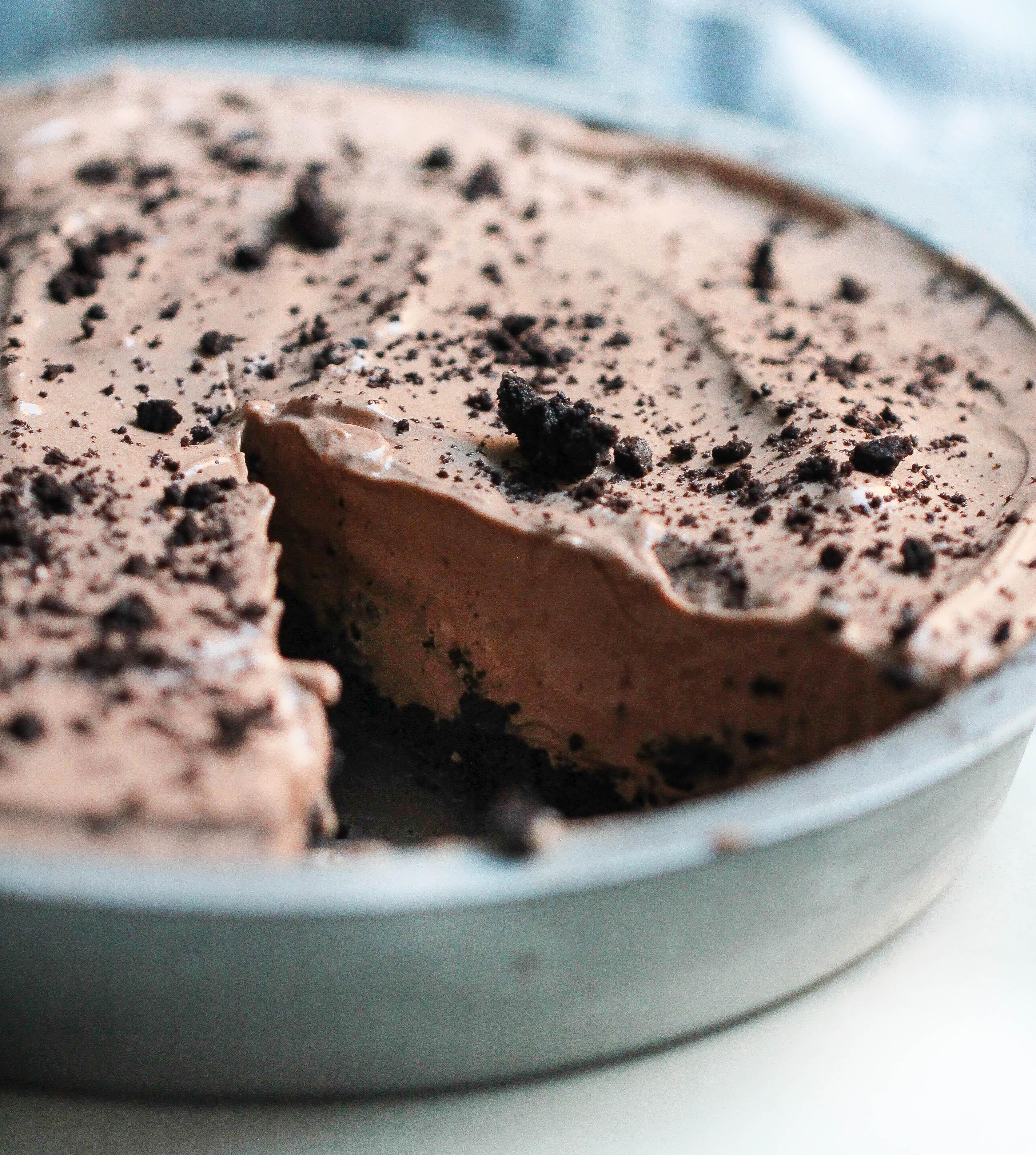 Oreo Pudding Pie