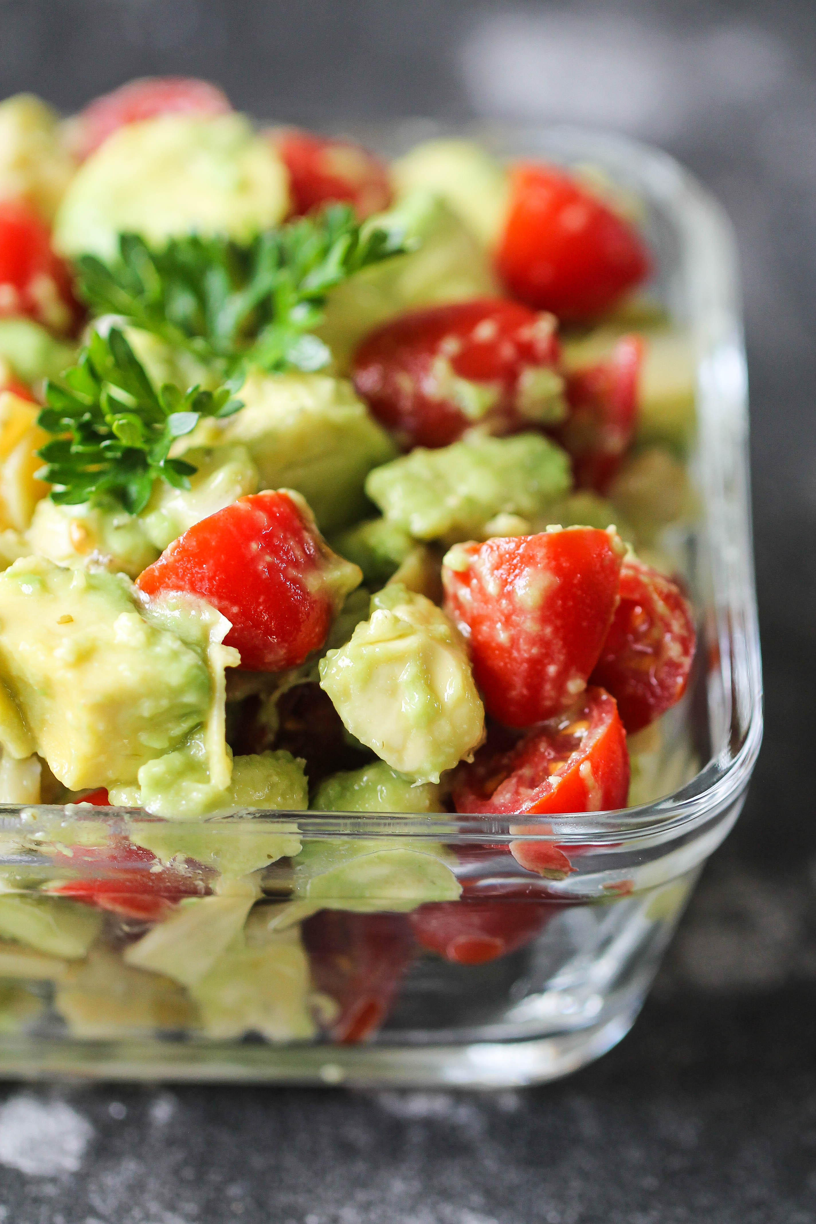 3 Ingredient Avocado Salad