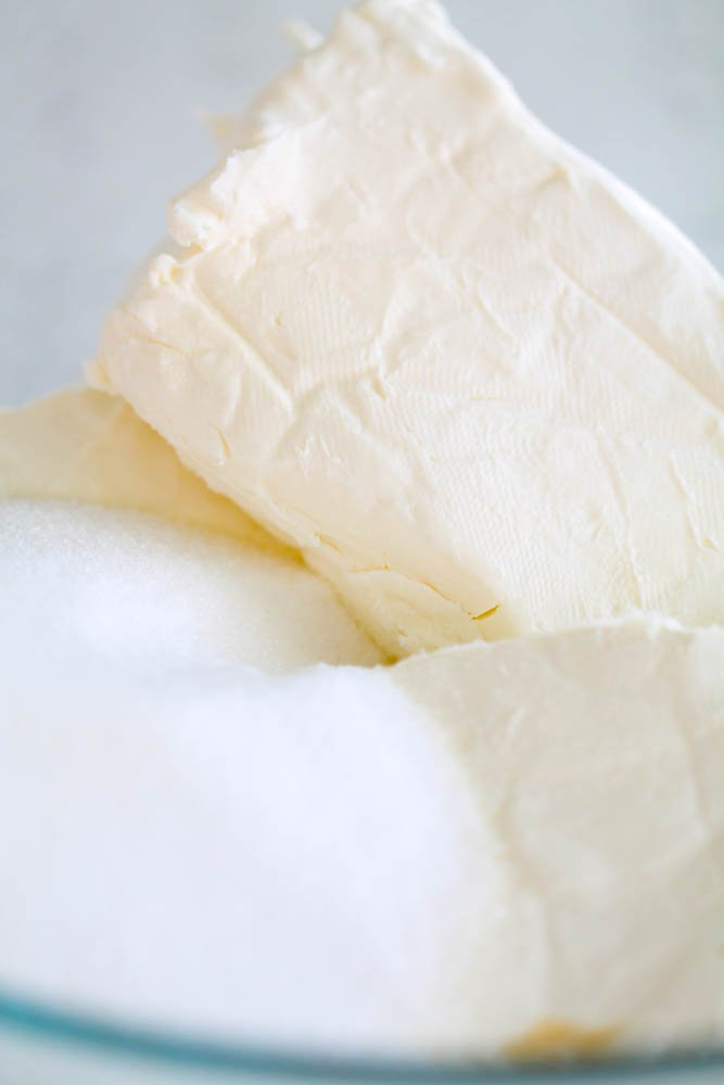 Ingredients for Cream Cheese Layer