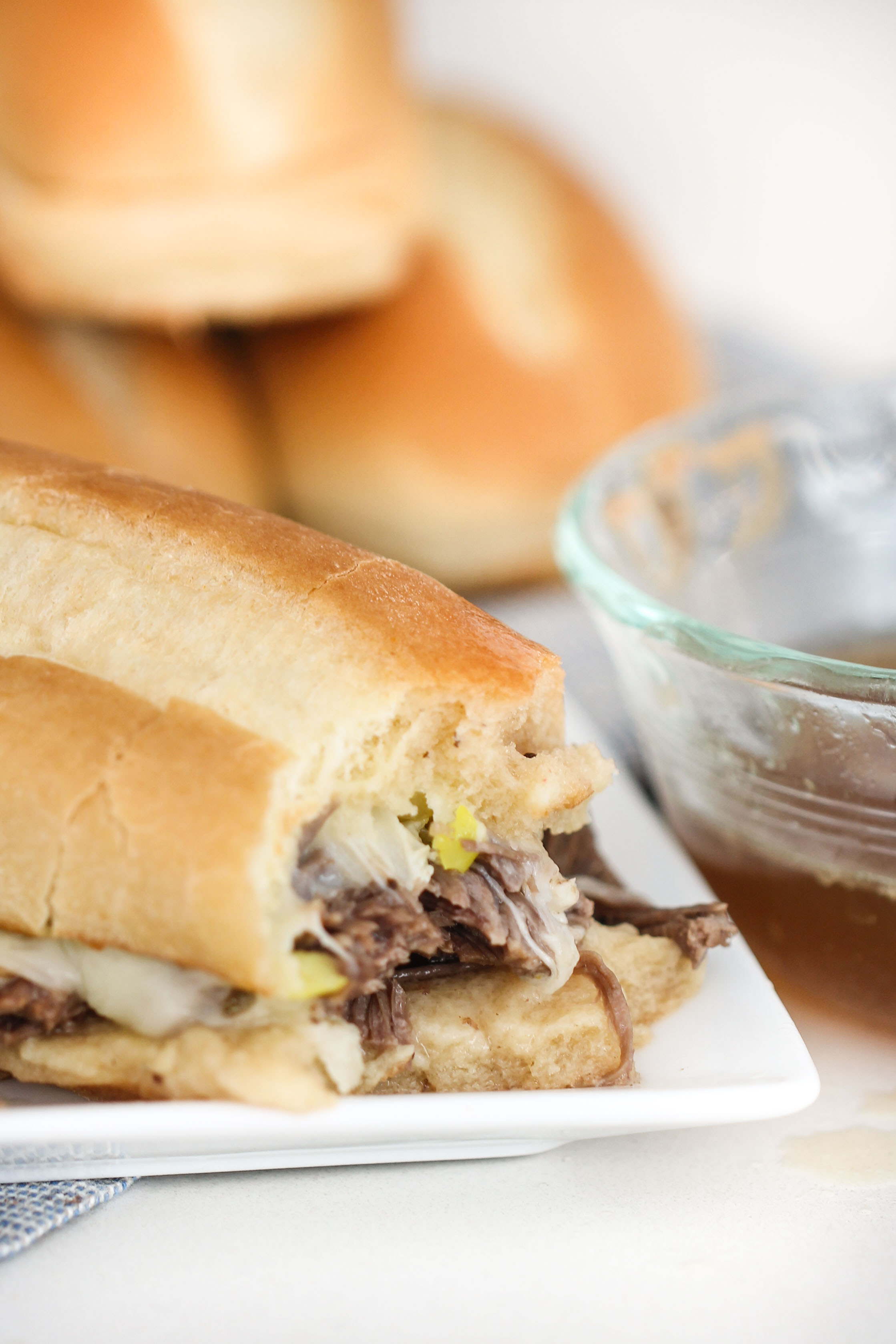 Instant Pot (And Slow Cooker) French Dip Sandwiches Recipe