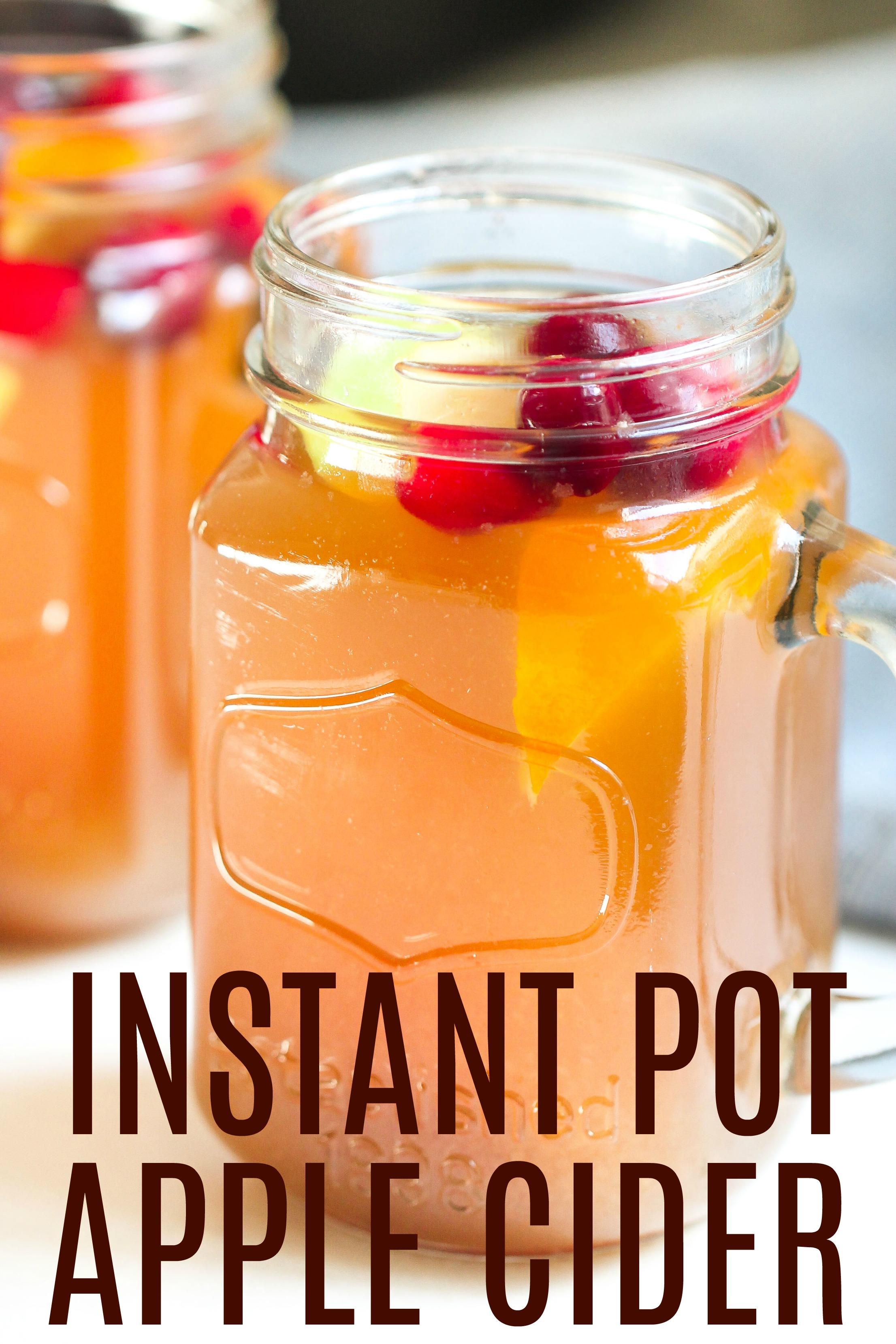 Instant Pot Apple Cider