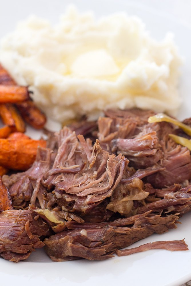 Fall Apart Slow Cooker Pot Roast