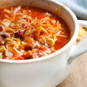 The BEST Instant Pot Chili (Dump and Go Recipe)_image