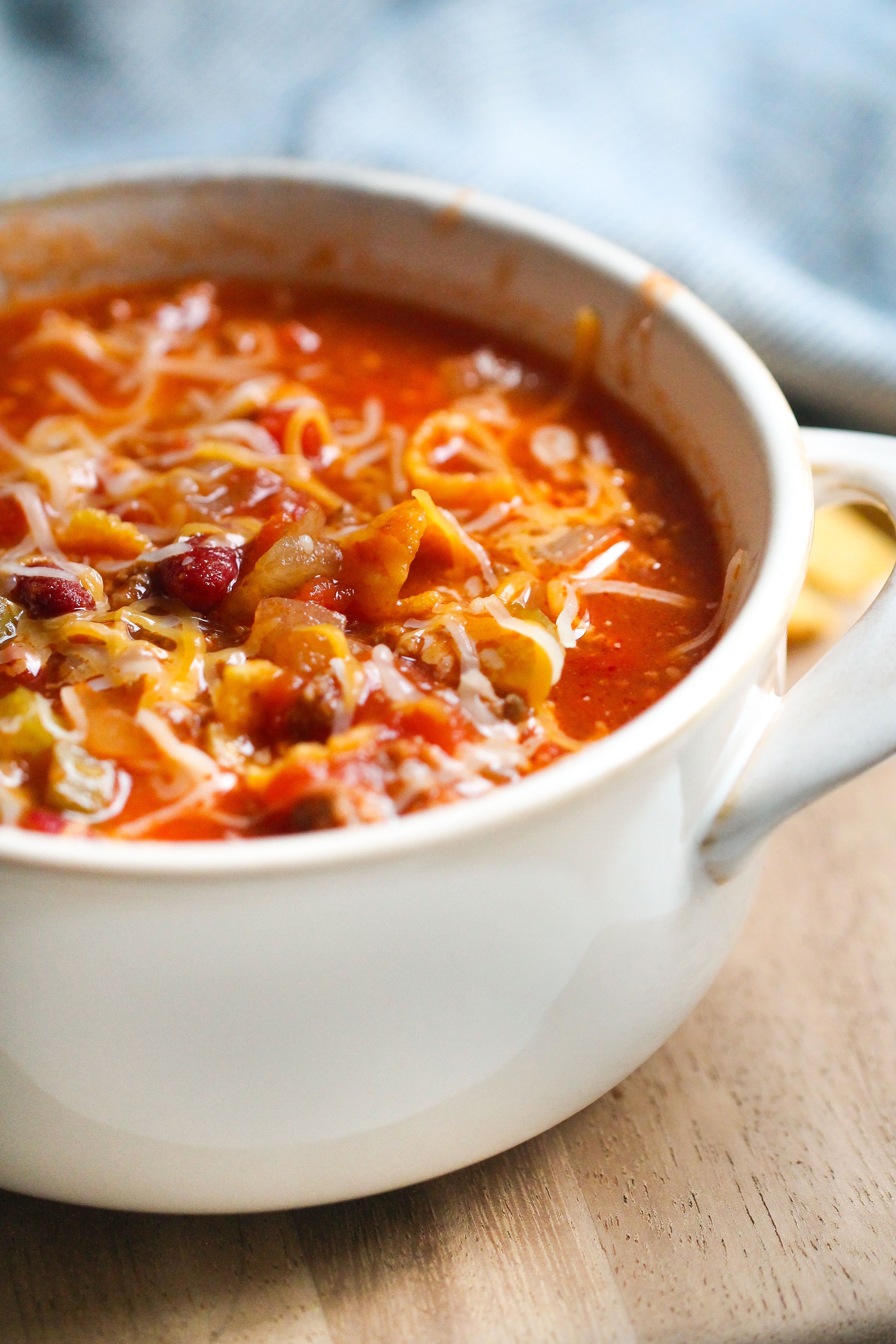 The BEST Instant Pot Chili (Dump and Go Recipe)