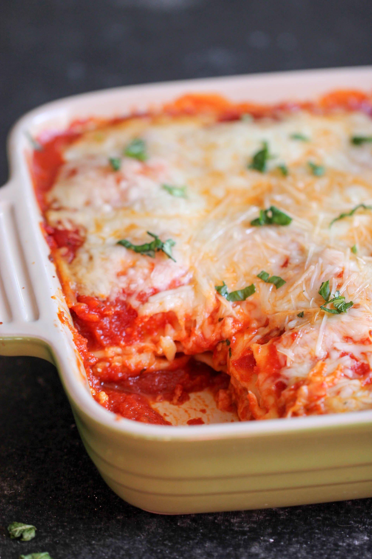 5-Ingredient Ravioli Casserole corner piece