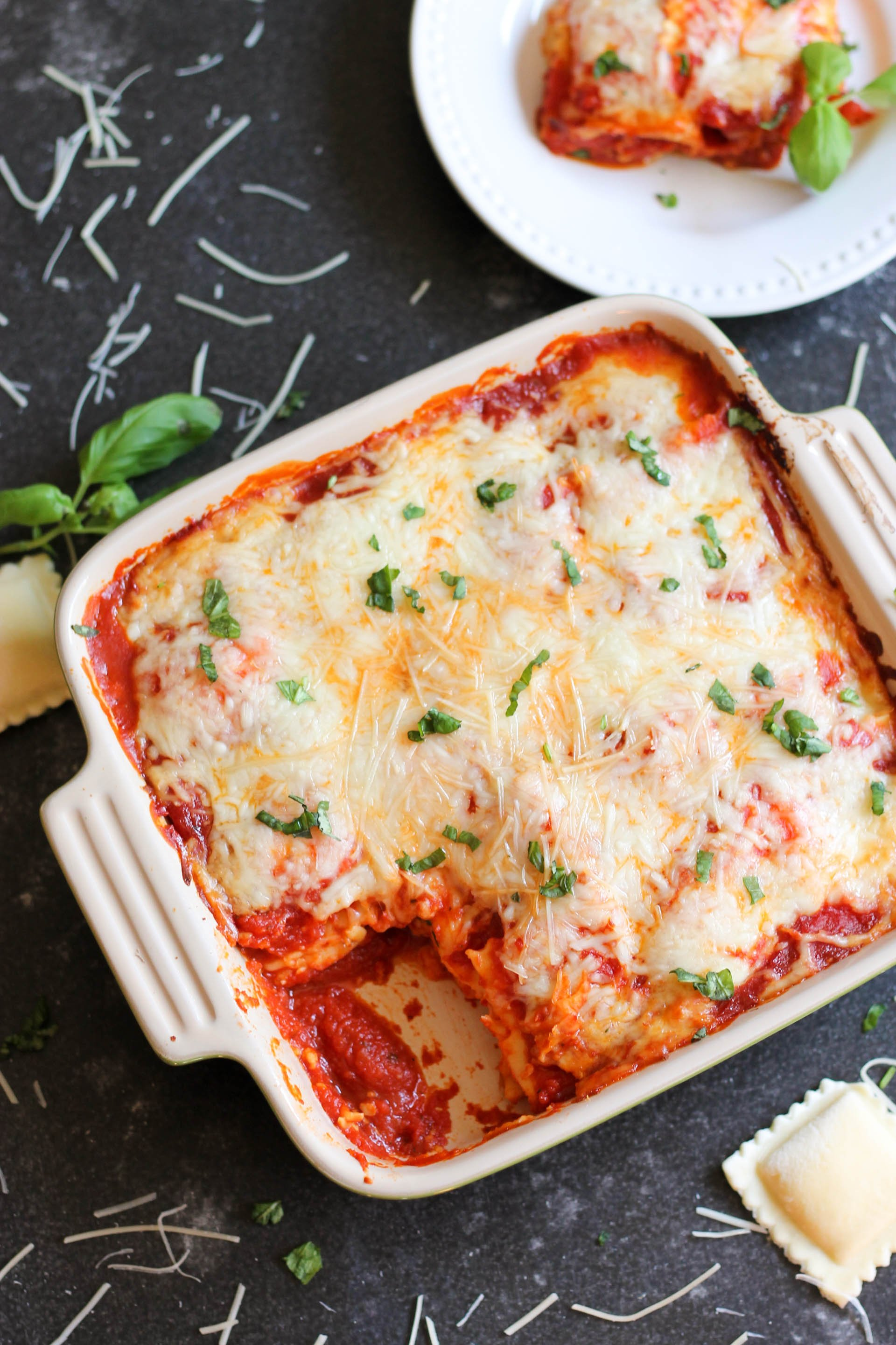 5-Ingredient Ravioli Lasagna Recipe
