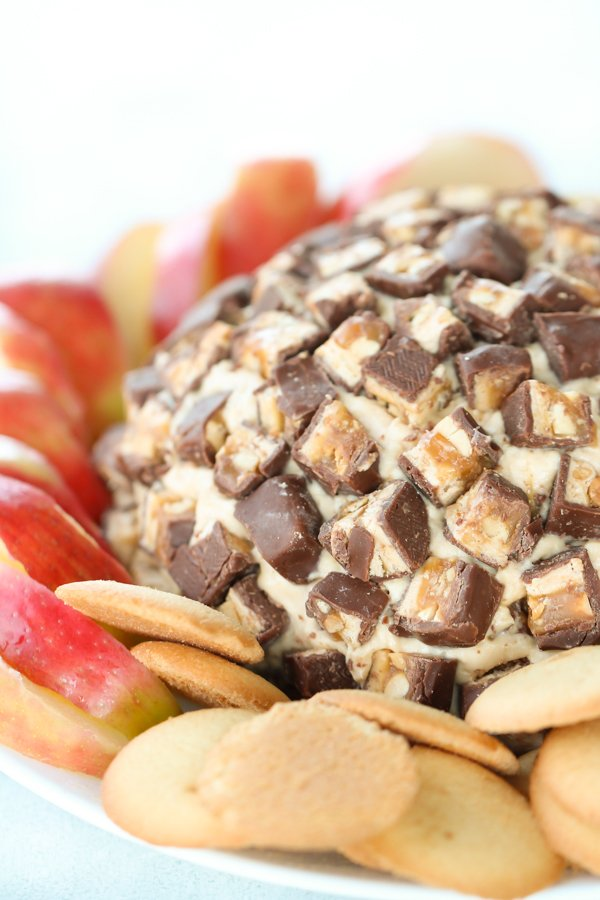 Snickers Cheese Ball