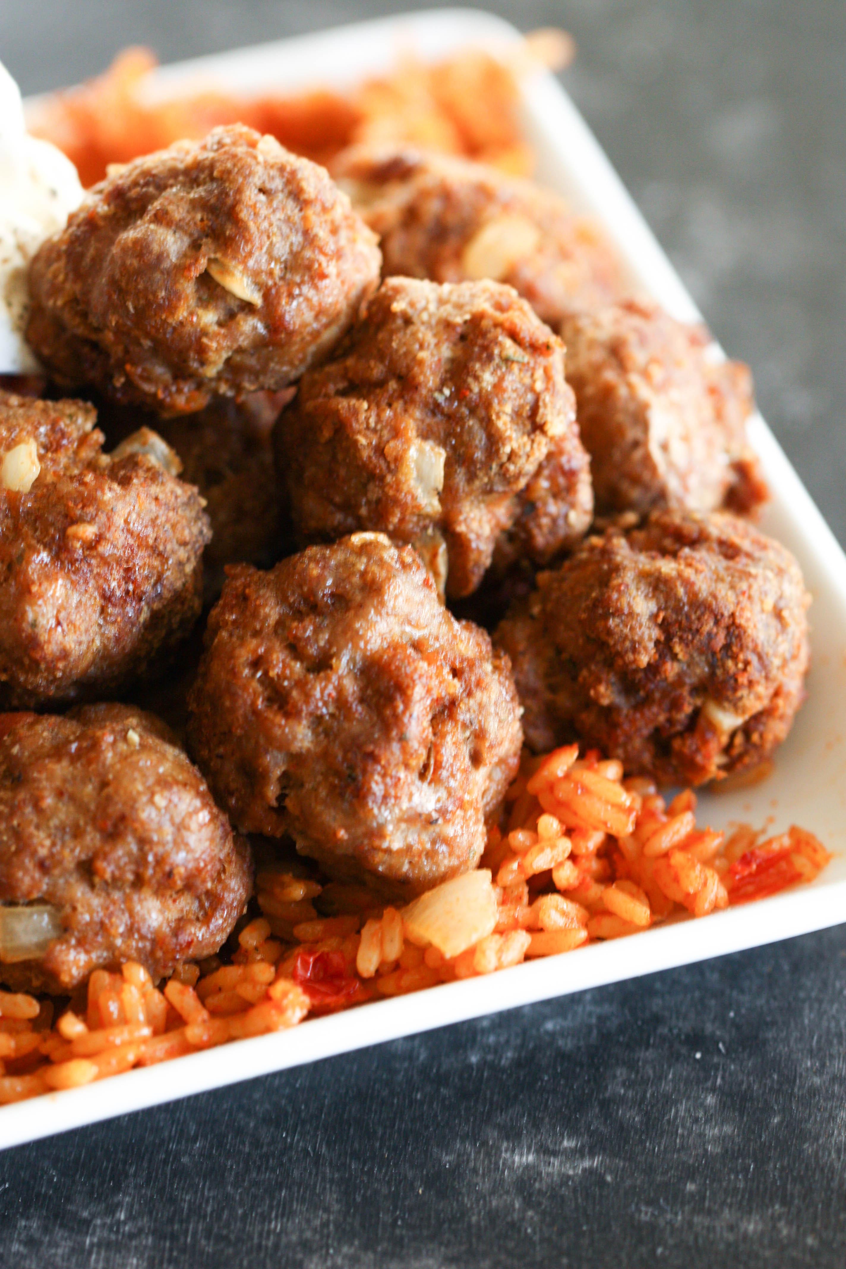 Taco Turkey Meatballs