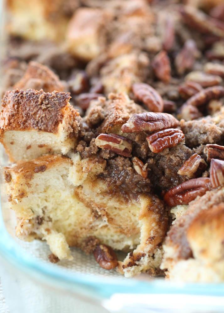 Brown Sugar Pecan Overnight French Toast Casserole image