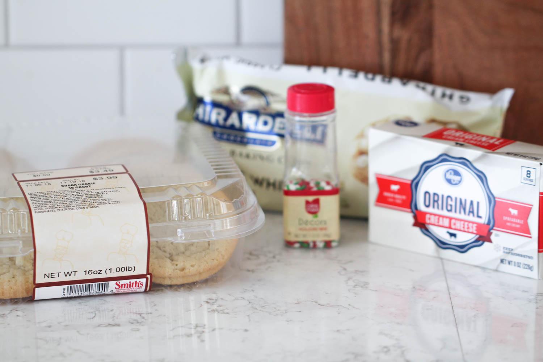 ingredients needed for sugar cookie truffles